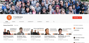 Y Combinator Youtube Channel