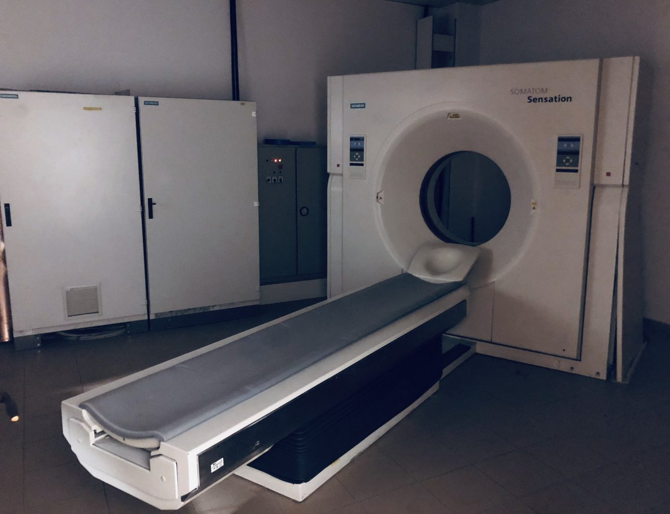 "This is ""the machine"" or MRI Scanner"