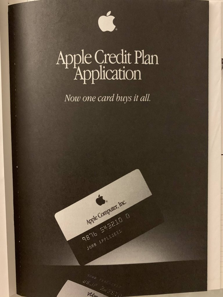 apple credit plan application