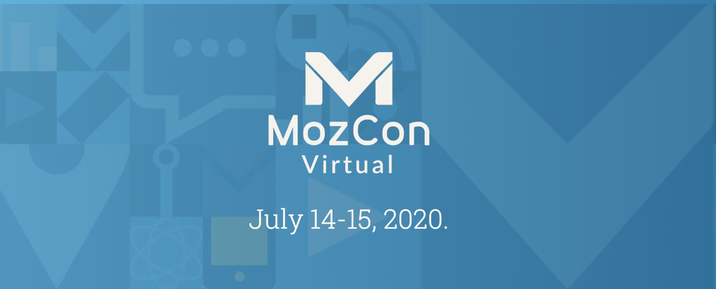 MozCon 2020 Virtual